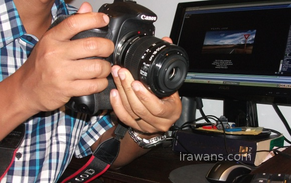 This is how I did it without reverse lens mount