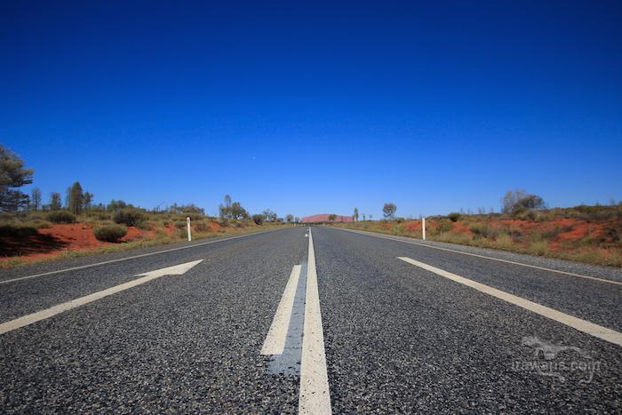 Highway to Uluru